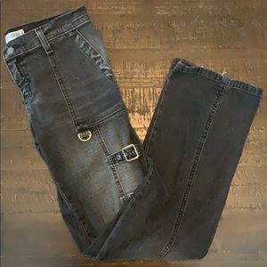 Express Jeans with punk details